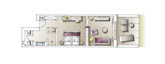 Floor plan Junior Suite