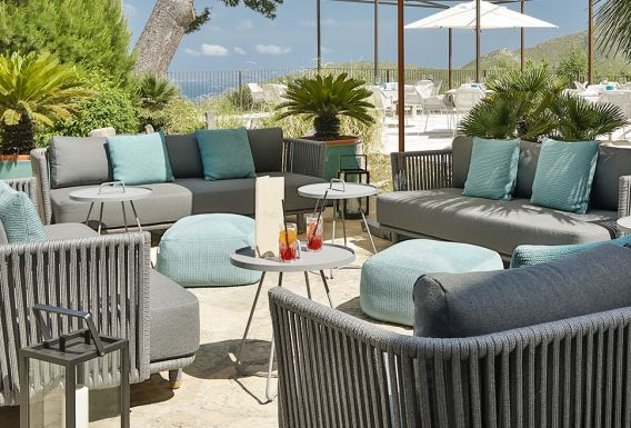 Carrossa terrace lounge Mallorca