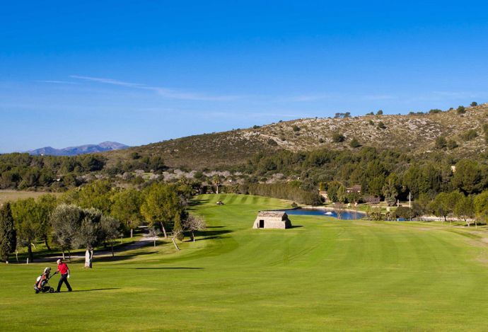 Golf course Canyamel Mallorca